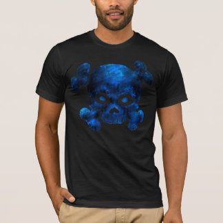 Skull and Bones Blue Rock T-Shirt