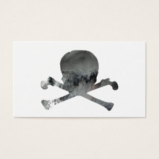 Skull And Bones Business Card