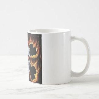 skull and bones coffee mug