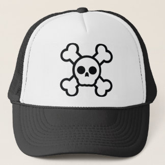 Skull and bones Cool Design Trucker Hat