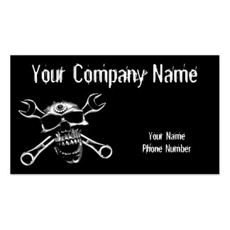Skull and Bones Double-Sided Standard Business Cards (Pack Of 100)