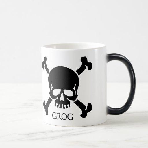 Skull and Bones Grog Mug