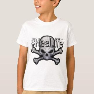 skull and bones #HeelLife T-Shirt
