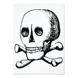 Skull And Bones Invitations