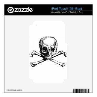 Skull and Bones iPod Touch 4G Skin