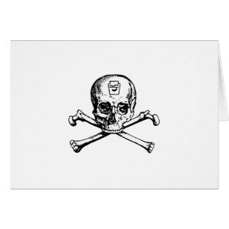 Skull and Bones - Secret Society Card