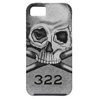 Skull and Bones Secret Society Illuminati iPhone SE/5/5s Case