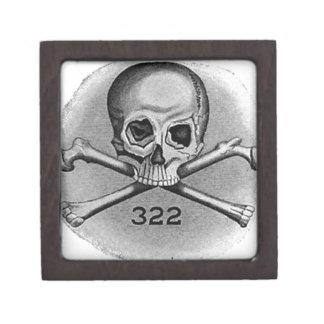 Skull and Bones Secret Society Illuminati Premium Trinket Boxes