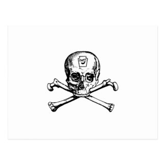 Skull and Bones - Secret Society Postcard