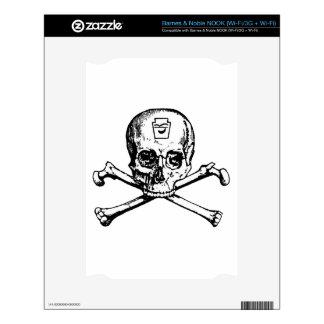 Skull and Bones - Secret Society Decals For NOOK