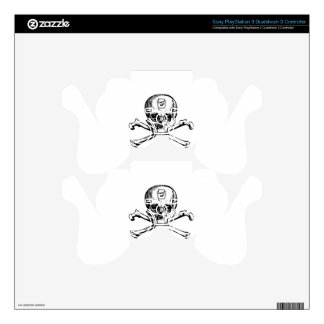 Skull and Bones - Secret Society PS3 Controller Skin