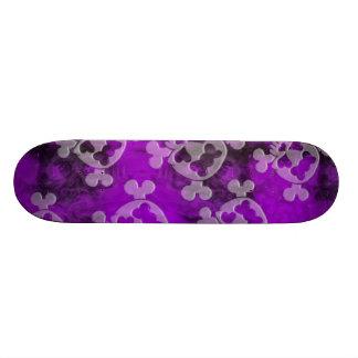 Skull and Bones Skateboard Deck