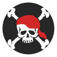 Skull and Bones Sticker sticker