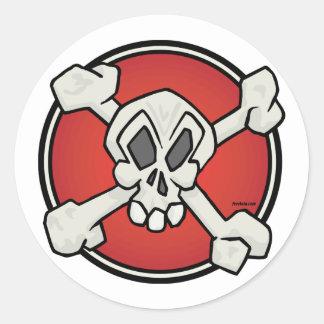 Skull and Bones Sticker Sheet