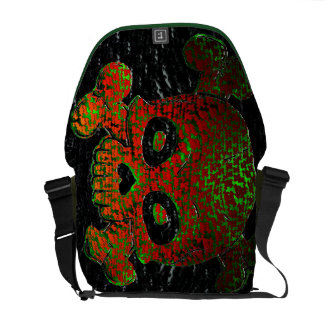 Skull and Bones Type 2 Customizable Courier Bag