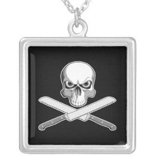 Skull and Bread Knives Custom Jewelry