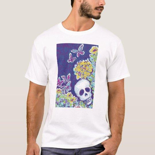 Skull and Butterflies T-Shirt