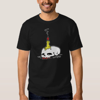 Skull and Candle T Shirt