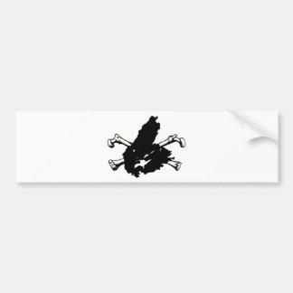 Skull and Cape Breton Bumper Sticker