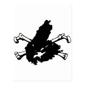 Skull and Cape Breton Postcard
