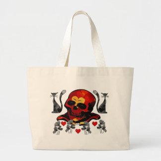 Skull and Cats Bag