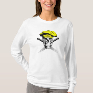 Skull and Chef Knives: Yellow Hat T-Shirt