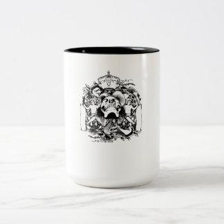Skull And Cherubs Mug