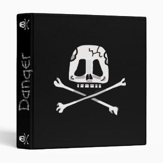 Skull and Cross Bone Binder! Binder