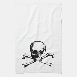 Skull and Cross bone Kitchen Towel
