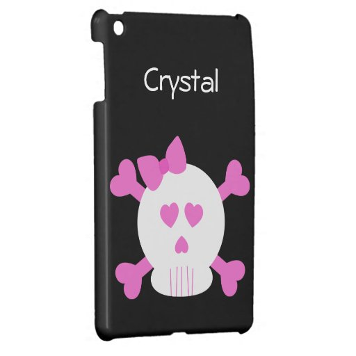 Skull and Cross Bones 1 iPad Mini Covers
