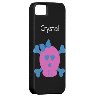 Skull and Cross Bones 2 iPhone SE/5/5s Case
