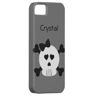 Skull and Cross Bones 3 iPhone SE/5/5s Case