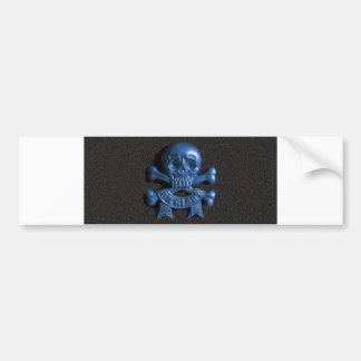 Skull and Cross bones Bumper Stickers