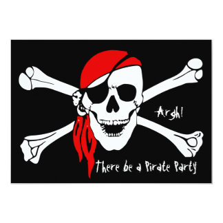 Skull and Cross Bones Card