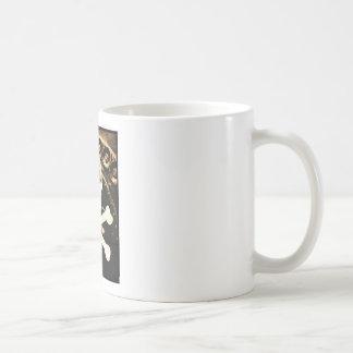 Skull and Cross Bones Classic White Coffee Mug