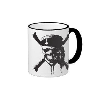 Skull and Cross-Bones Disney Ringer Coffee Mug