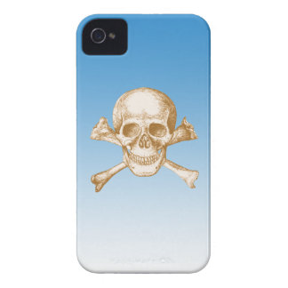 Skull and Cross Bones iPhone 4 Cover