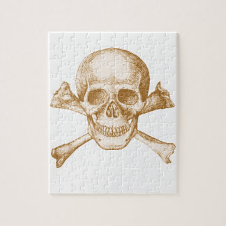 Skull and Cross Bones Jigsaw Puzzle