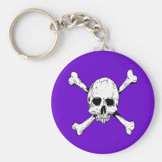 Skull and Cross Bones Keychain
