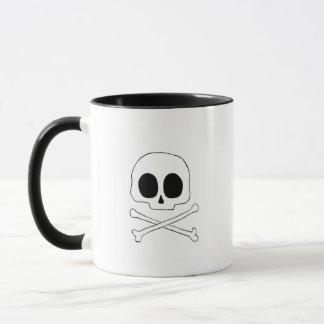 Skull and Cross Bones Mug