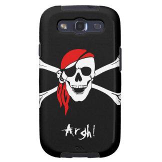 Skull and Cross Bones Pirate Galaxy S3 Cases