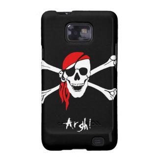Skull and Cross Bones Pirate Samsung Galaxy S Cases