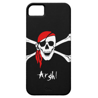 Skull and Cross Bones Pirate iPhone SE/5/5s Case