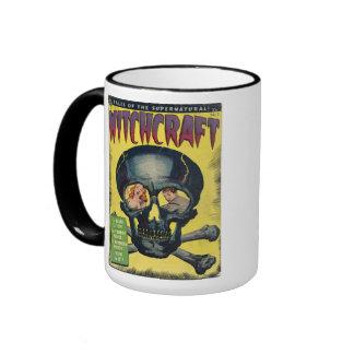 Skull and Cross Bones Ringer Coffee Mug