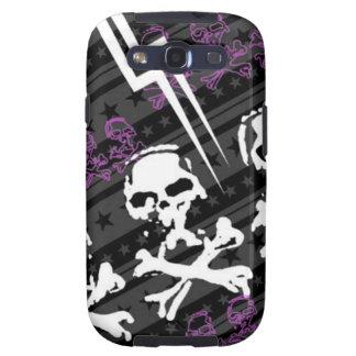 Skull and Cross Bones Samsung Galaxy S3 Vibe Case Galaxy S3 Cases