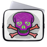 SKULL AND CROSS BONES ~ SPIRAL LAPTOP COMPUTER SLEEVES