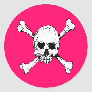 Skull and Cross Bones Stickers