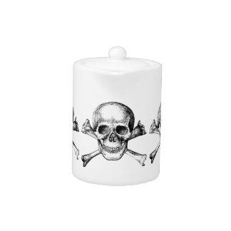 Skull and Cross Bones Teapot