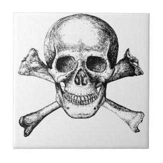 Skull and Cross Bones Tile