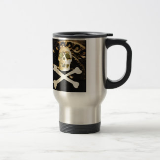Skull and Cross Bones Travel Mug